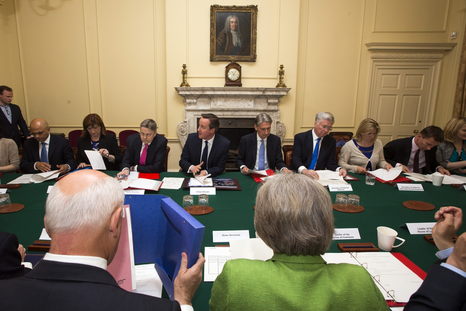 The all-Conservative cabinet