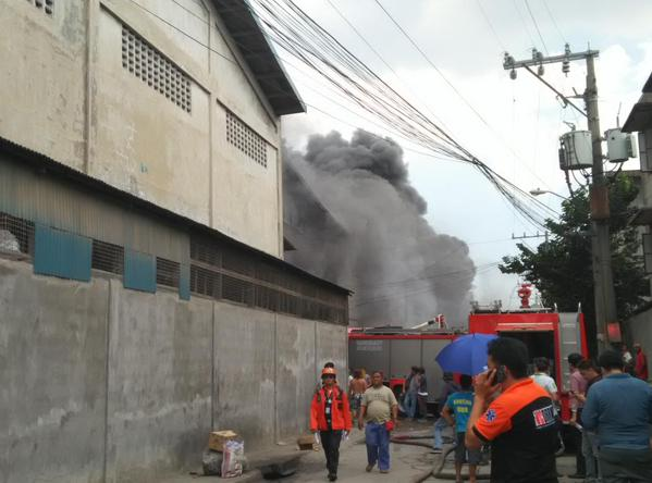 Philippines factory fire