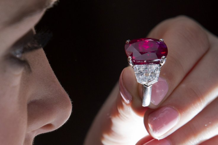 Rare Pigeon Blood Ruby Sells For World Record 30m
