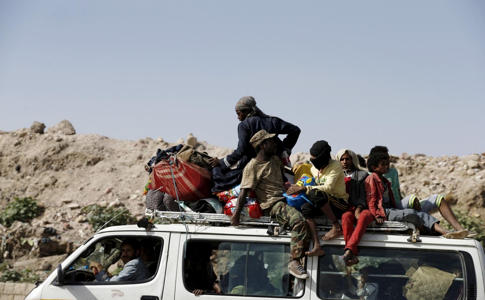 Yemen conflict and Iran aid vessel