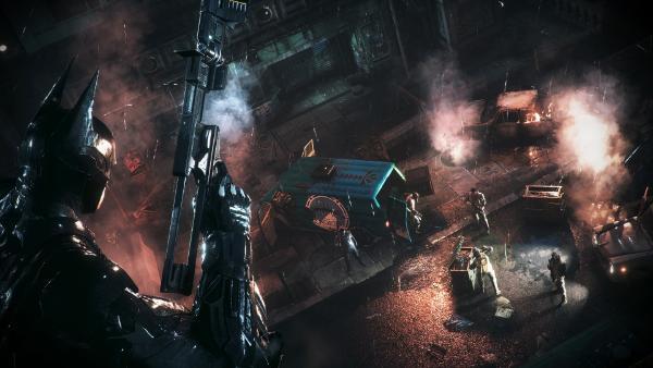 Batman Arkham Knight gun