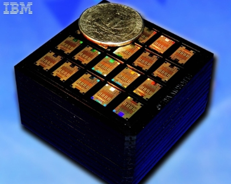 IBM's multiplexing silicon photonics computer chip
