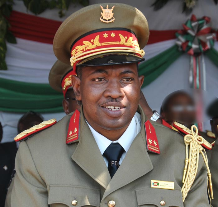 Burundi's Major-General Godefroid Niyombare