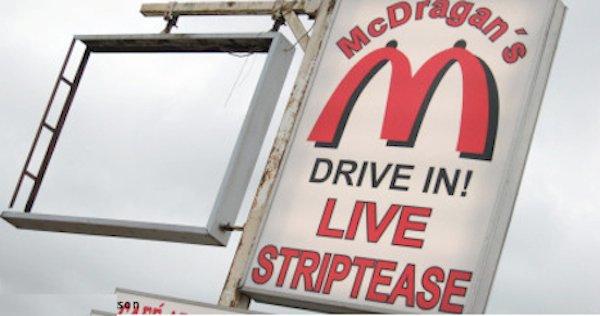 McDonald's fakes