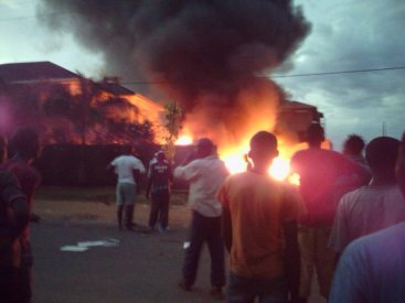 Burundi Fema FM burned down