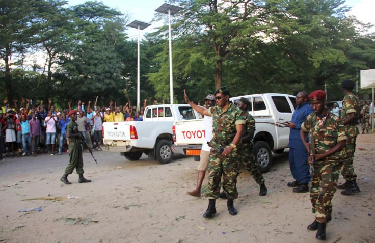 Burundi army