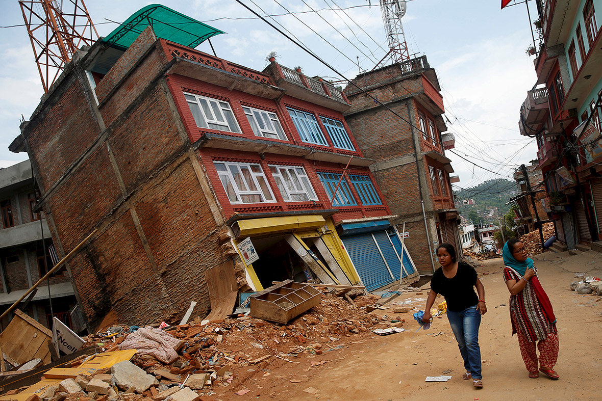 nepal second earthquake