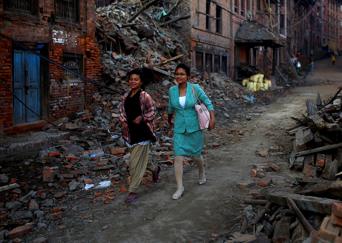 nepal second earthquake
