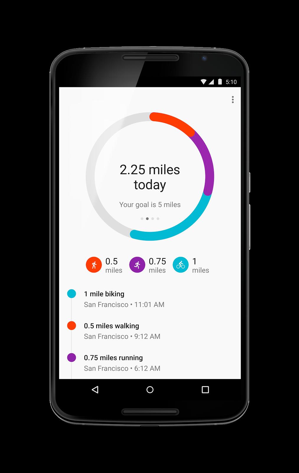 Google Fit 1.52