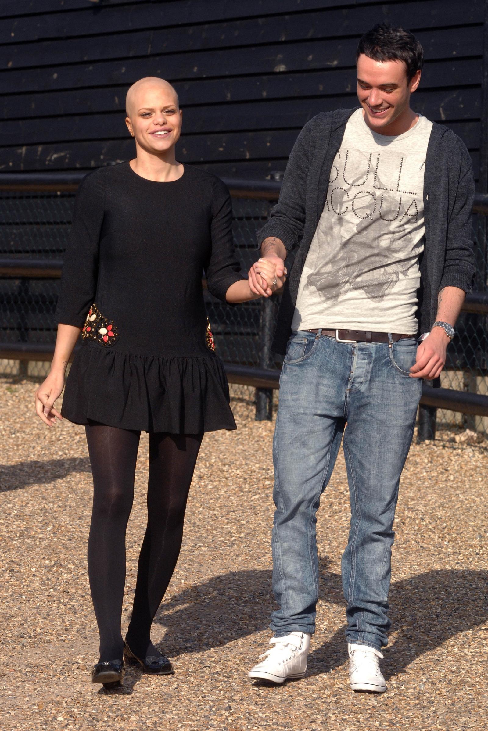 Jack Tweed and Jade Goody