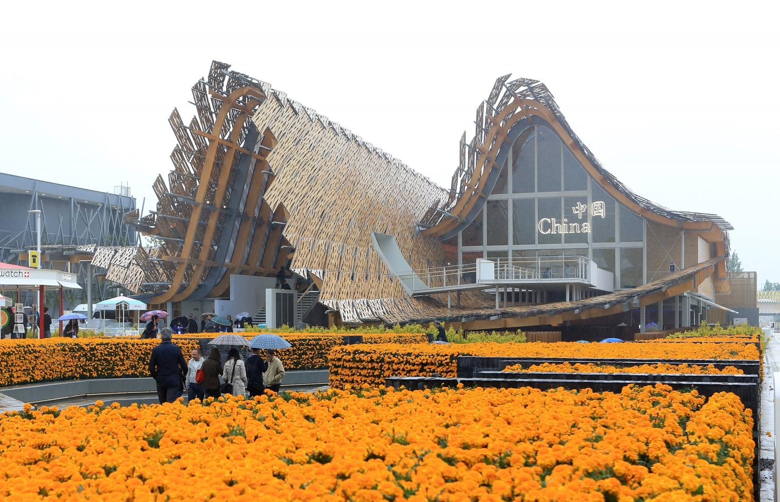 China Pavillions - Expo 2015