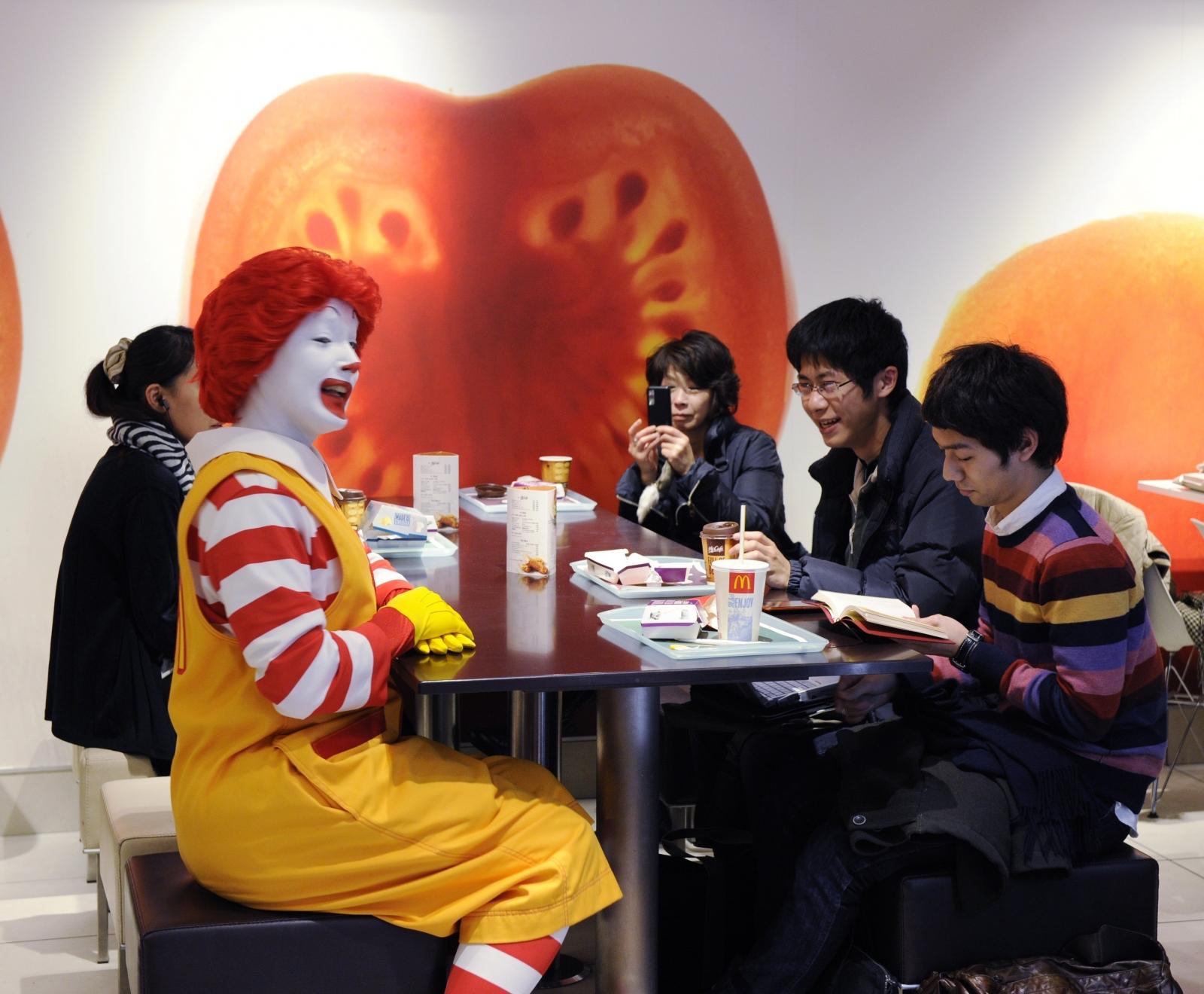 Ronald McDonald Japan