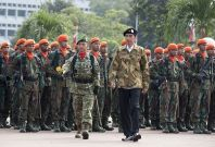 female recruits in indonesia army