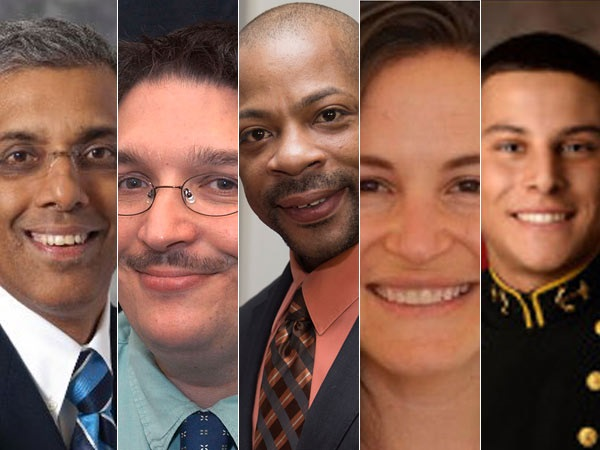 Five of the eight victims of Amtrak188