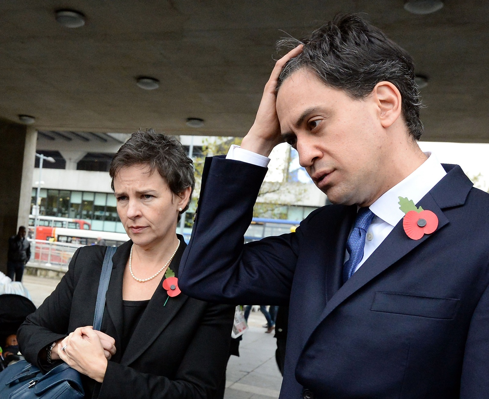 Ed Miliband and Mary Creagh