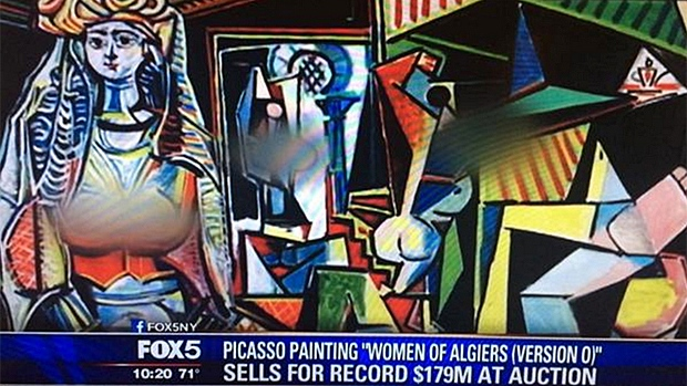 picasso blurred breasts