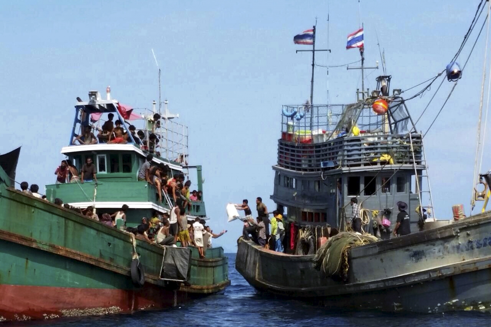 South east Asia migrant crisis