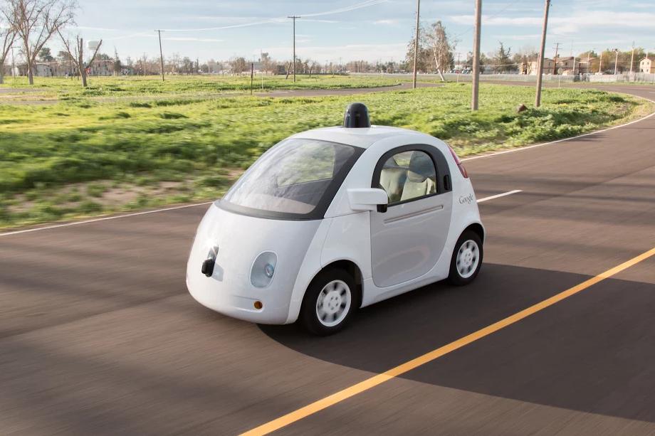 Google car, self-driving