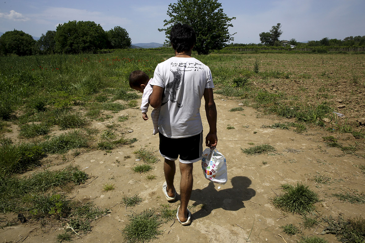 migrants Greece Macedonia Serbia Germany