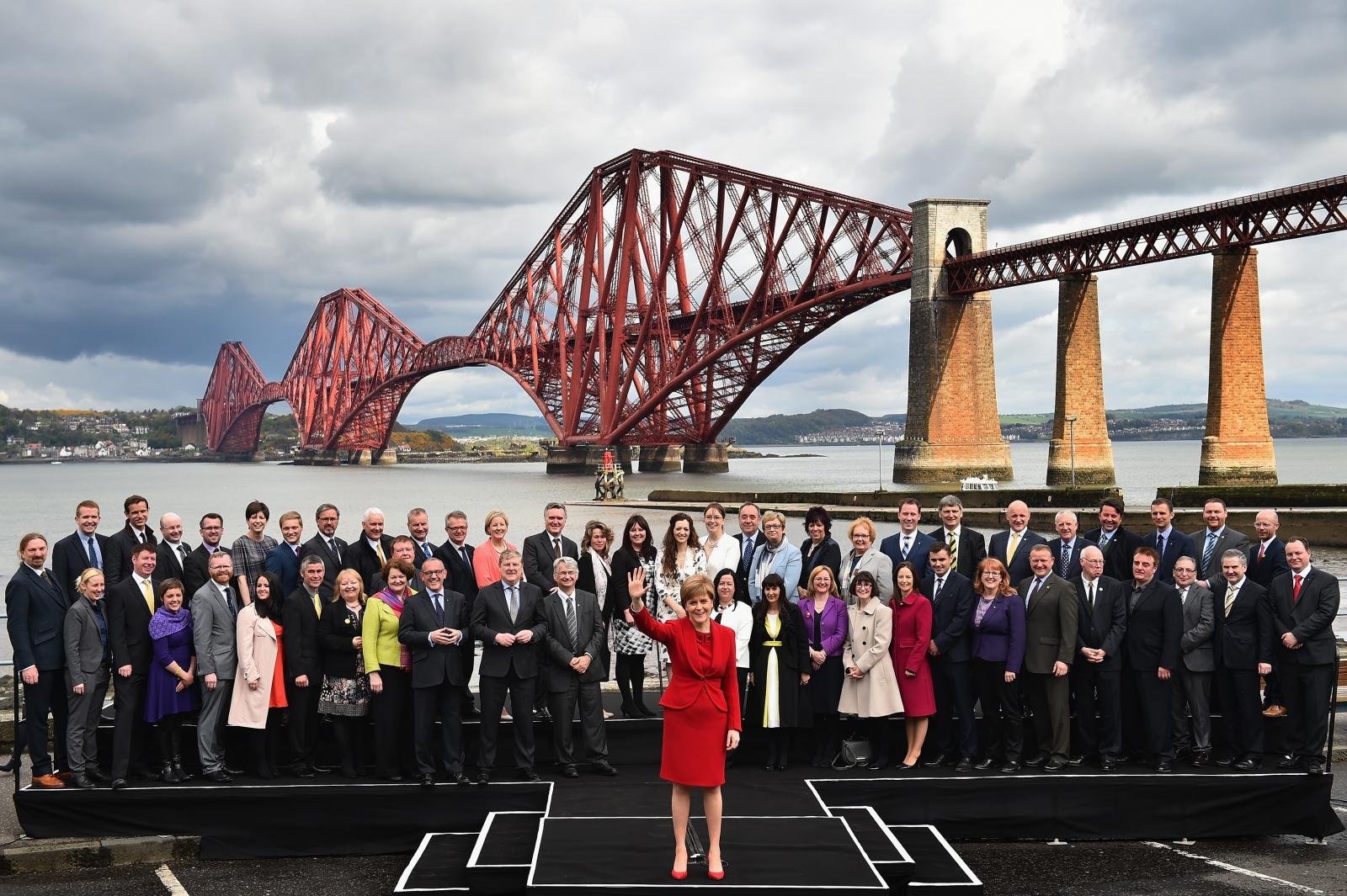 SNP MPs and Nicola Sturgeon