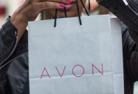 Avon bag/lady