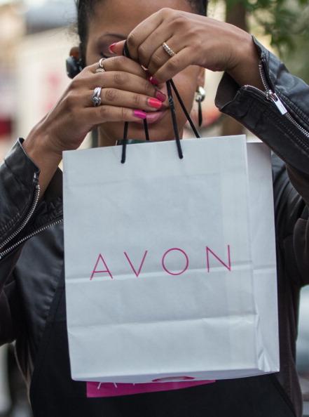 Avon bag/lady