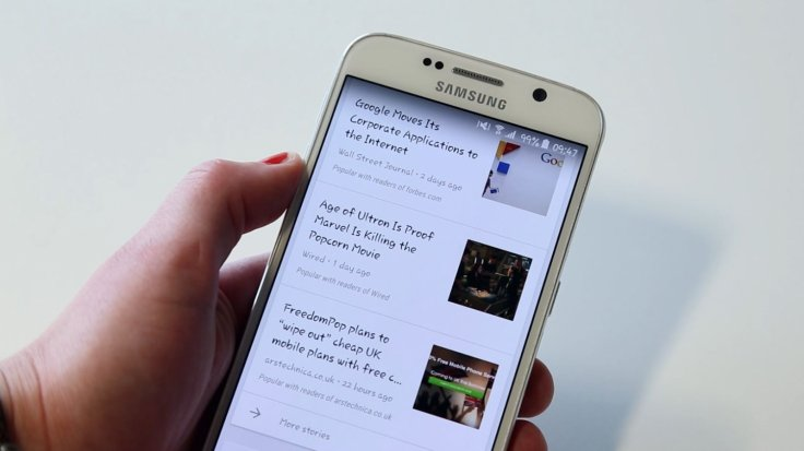 Android L-like Material Design theme for Samsung Galaxy S6