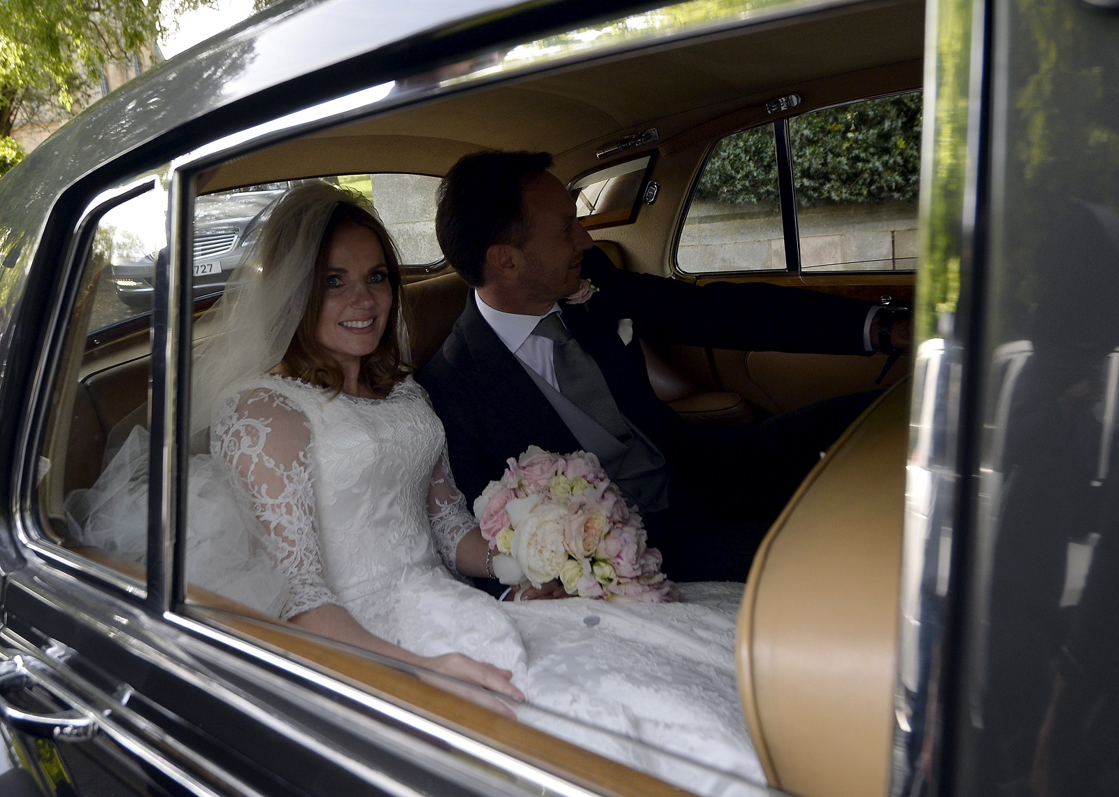 Geri Halliwell gets married to Christian Horner