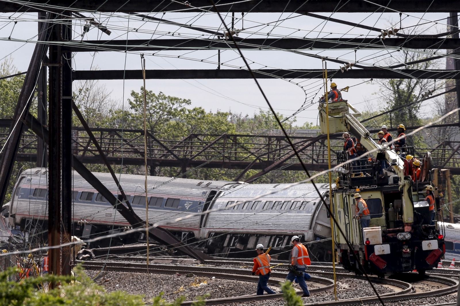 Amtrak train crash