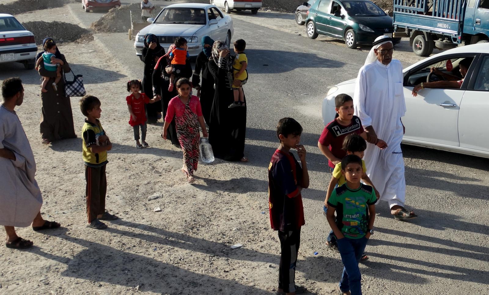 Isis Ramadi offensive in Iraq