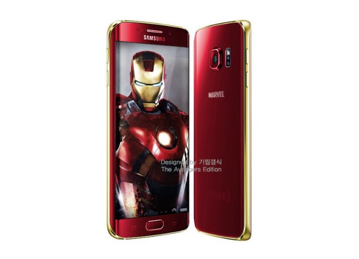 Galaxy S6 Edge: Iron Man Edition