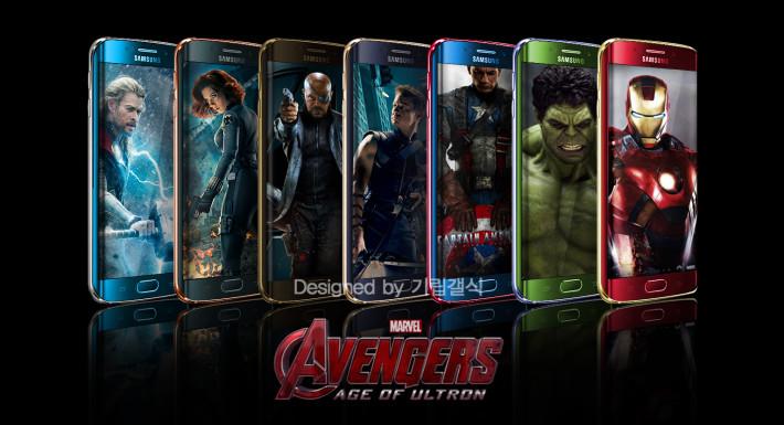 Limited edition samsung galaxy s6 edge iron man smartphone goes.