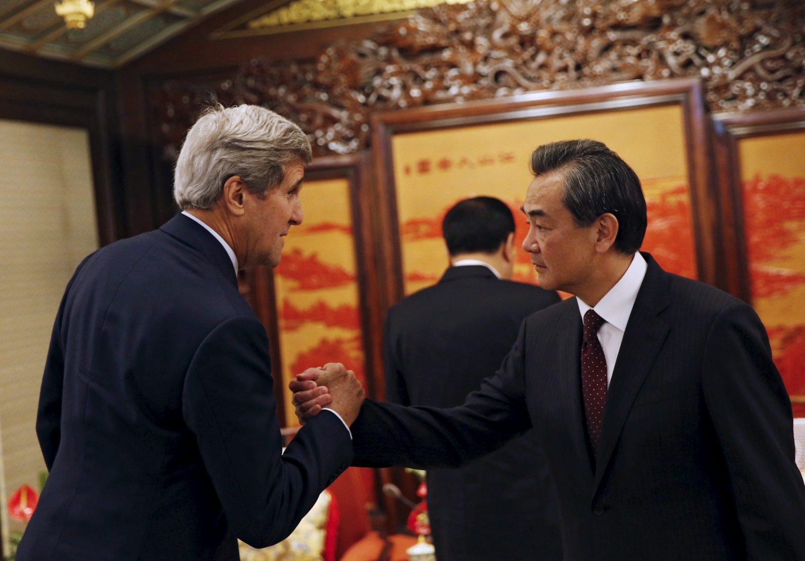 John Kerry meets Wang Yi
