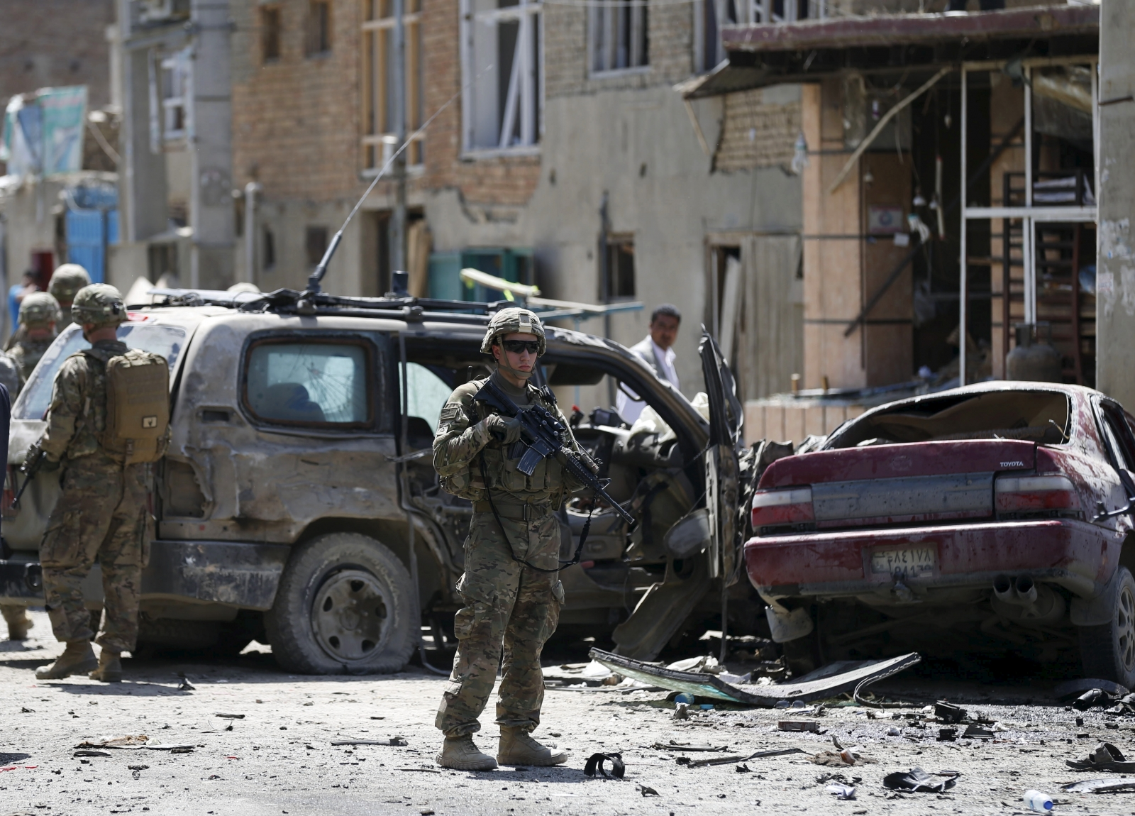 Afghanistan Kabul airport blast