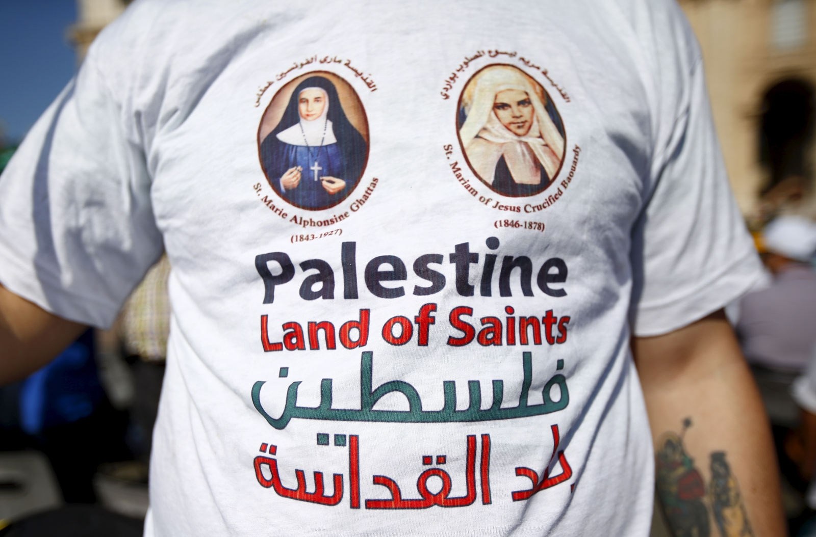 Two Palestinian nuns canonised