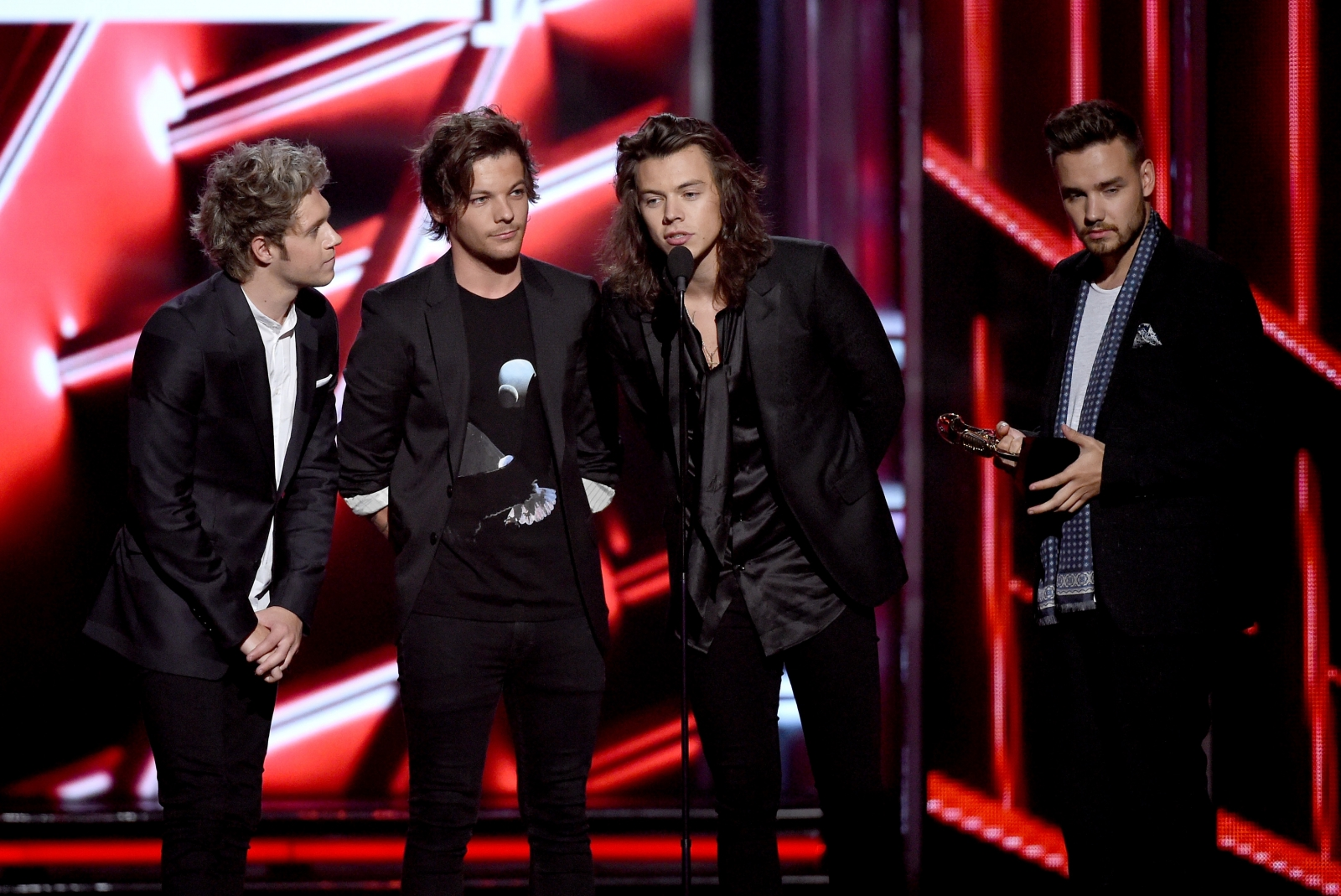 One Direction at Billboard
