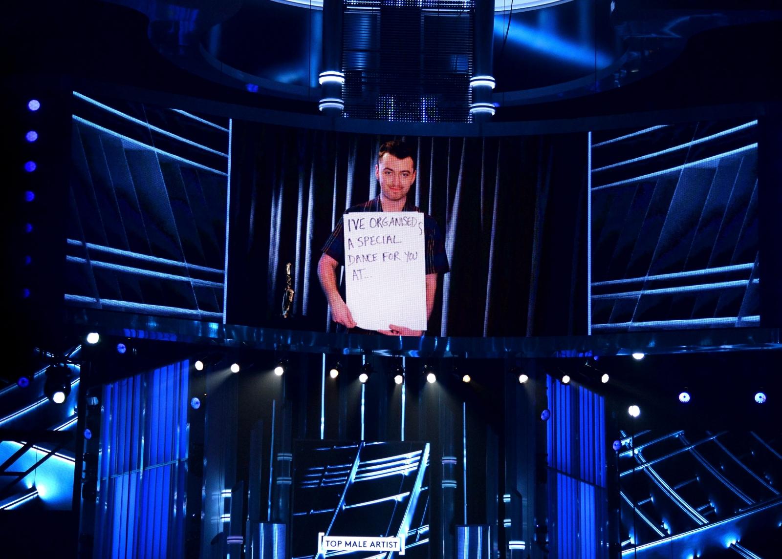 Sam Smith at Billboard