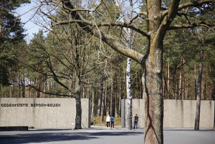 Bergen-Belsen memorial in Germany