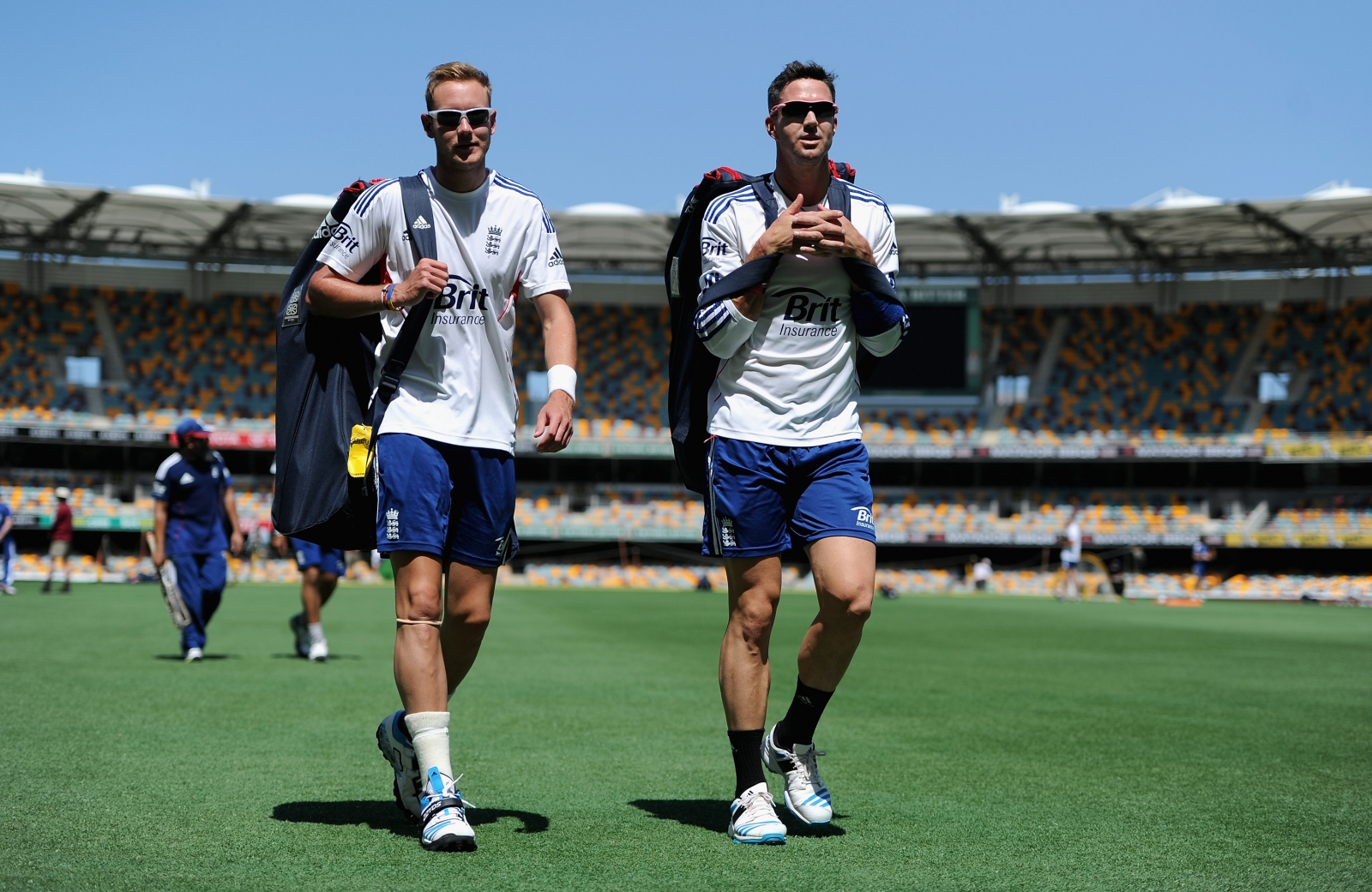 Broad and Pietersen