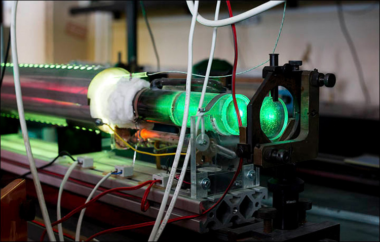World's first metal vapour laser from Siberia