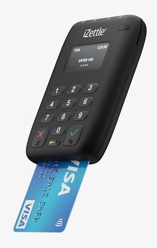 iZettle Apple Pay card reader