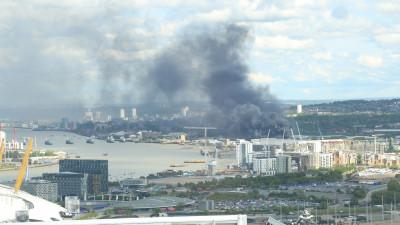 Woolwich fire London