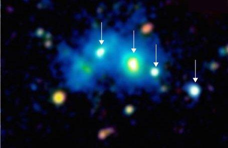 4 quasars together