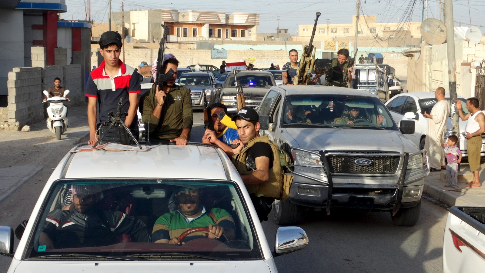 Isis battle for Ramadi in Iraq