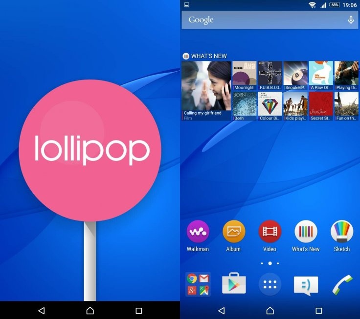 Xperia C3 and T2 Ultra receive Android 5 0 2 new firmware