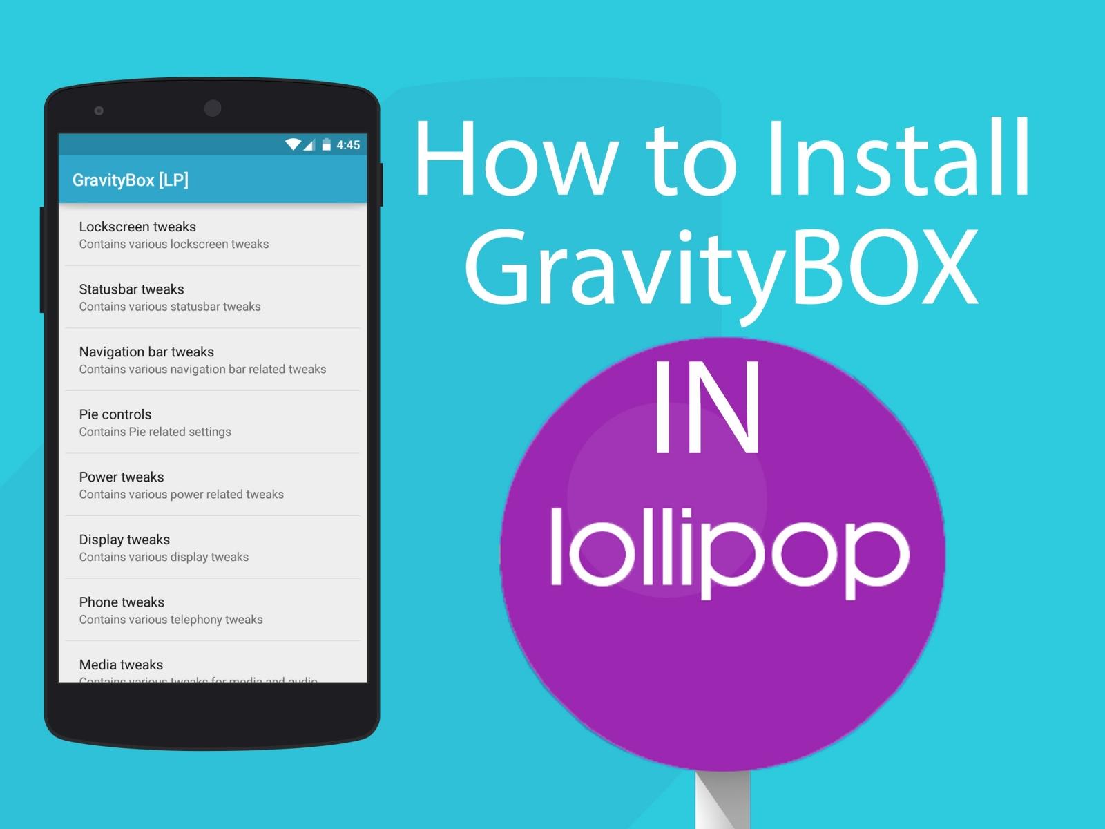GravityBox module for Xposed Framework