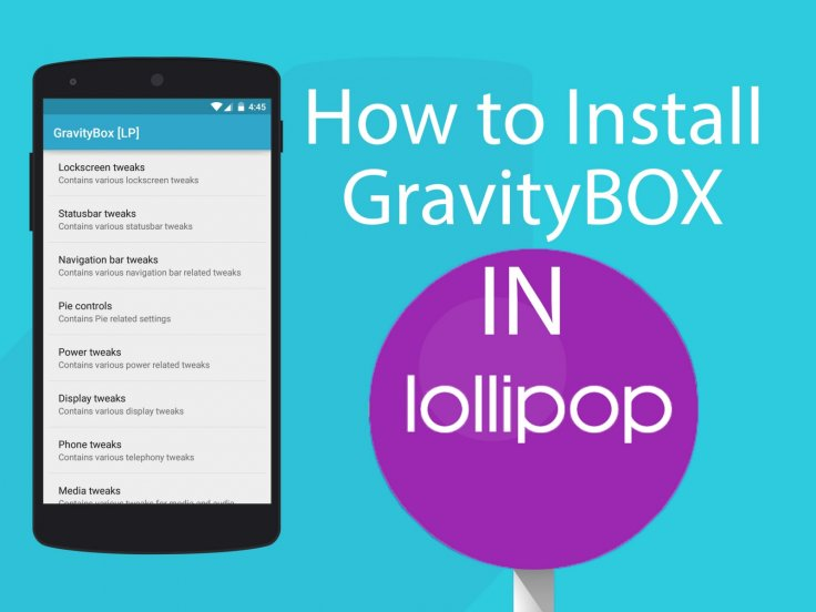 New GravityBox module for Xposed Framework brings Android 5 1