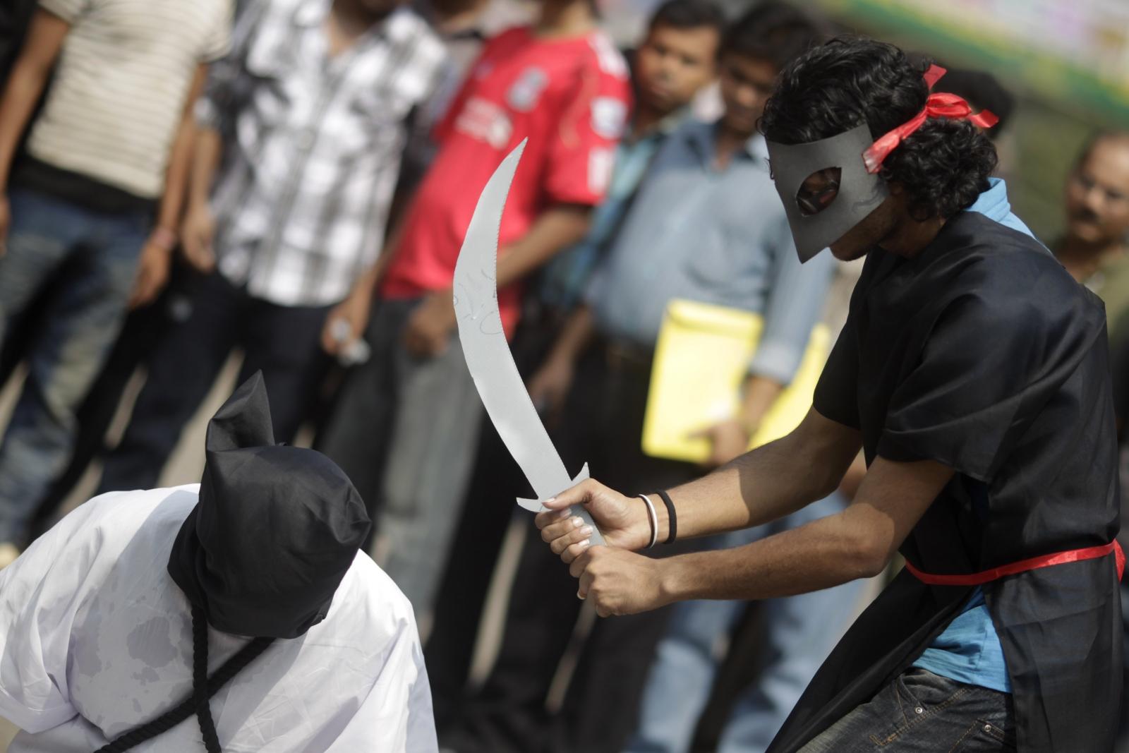 Saudi Arabia executioners