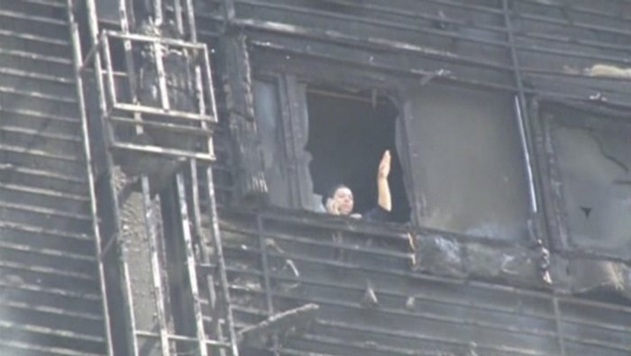 Baku inferno trapped