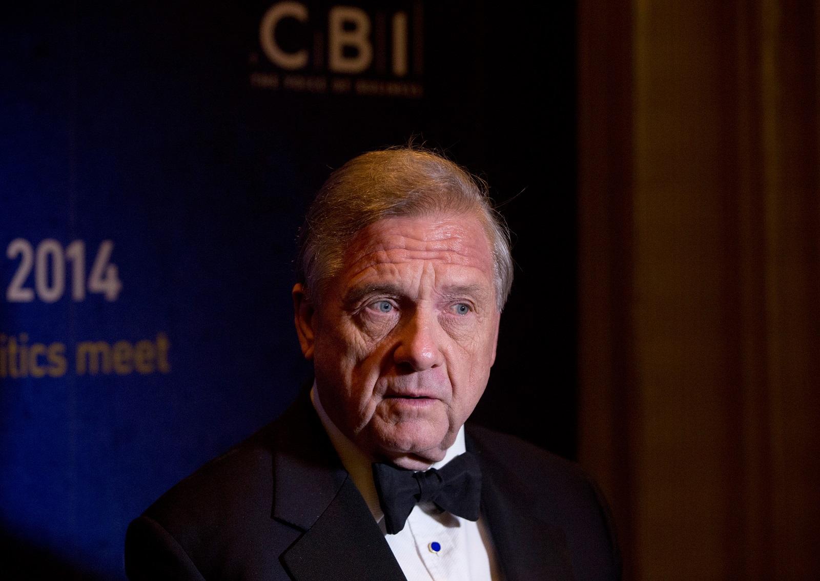 Sir Mike Rake of the CBI